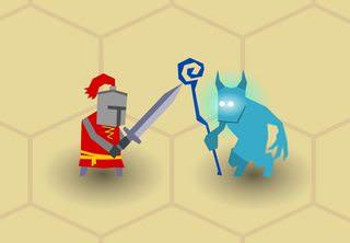макет с рыцарем и вызываетелем